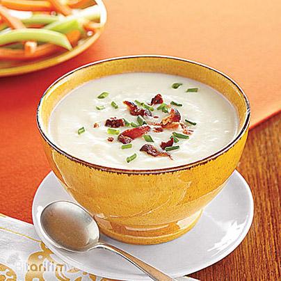 Kremalı Patates Çorbası Tarifi