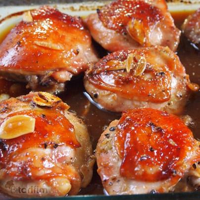 Fırında Soya Soslu Tavuk
