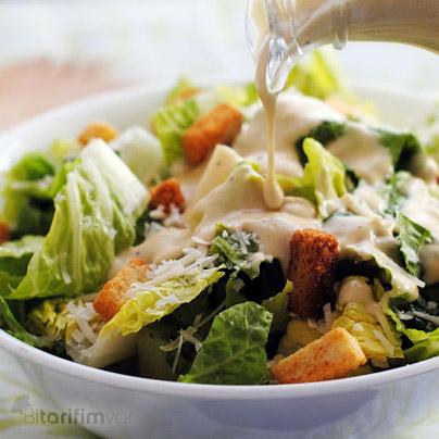 Sezar salata tarifi
