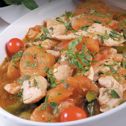 Kayısılı Tavuk Tarifi