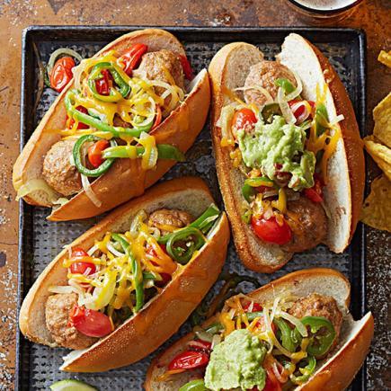 Tavuk-köfteli-sandviçler