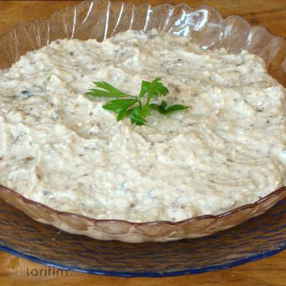 Cevizli Patlıcan Salatası Tarifi