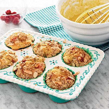 Ahududu Ve Bademli Muffin